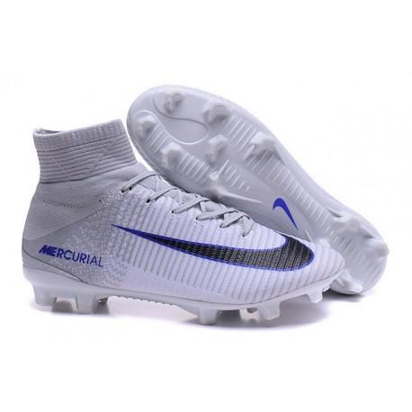5 Homme Nouvelles Mercurial Nike Fg Gris Superfly Pour Chaussure Noir Blanc lKJuF1T3c