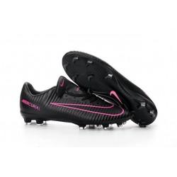 Chaussures Nike Football Hommes - Nike Mercurial Vapor 11 FG Noir Rose