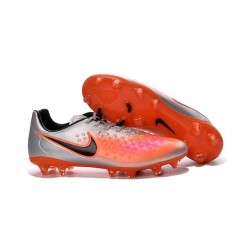 2016 Nike - Crampons Nike Magista Opus II FG Argent Orange Noir