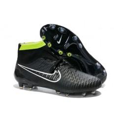 Coupe du Monde 2014 Crampons Nike Magista Obra FG Noir Vert