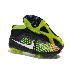 Nouveau Chaussures de Football Nike Magista Obra FG Noir Vert Rouge Blanc
