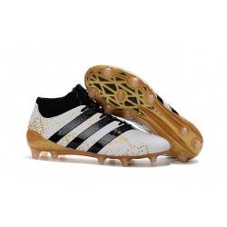 Nouvelles - Chaussures adidas ACE 16.1 Primeknit FG/AG Noir Blanc Or