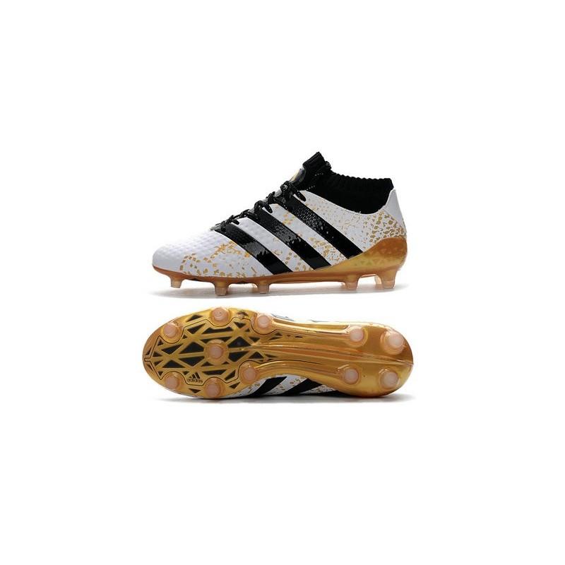 buy popular ce219 30236 Blanc Ace 1 Adidas Fgag Primeknit Nouvelles Chaussures 16 Or Noir qRI6EO8wx