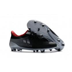 2016 Chaussures de football Adidas X 16.1 AG/FG Gris Noir