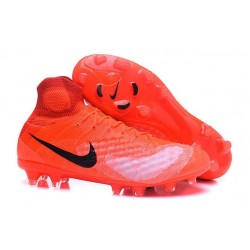 Nouvelles - Chaussures Foot Nike Magista Obra II FG Orange Noir