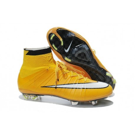 outlet for sale los angeles newest collection 2015 Nike Mercurial Superfly 4 FG Crampons de Football Orange Blanc Noir