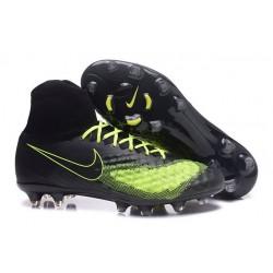 Nike Magista Obra II FG Football bottes pour hommes Noir Volt