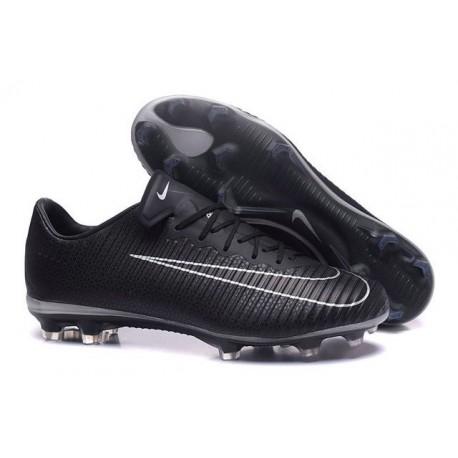Nouvelles Chaussures Nike Mercurial Vapor 11 FG Noir Blanc