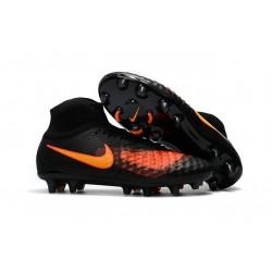 Nouvelles - Chaussures Foot Nike Magista Obra II FG Noir Orange