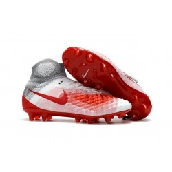 Nouvelles - Chaussures Foot Nike Magista Obra II FG Blanc Rouge