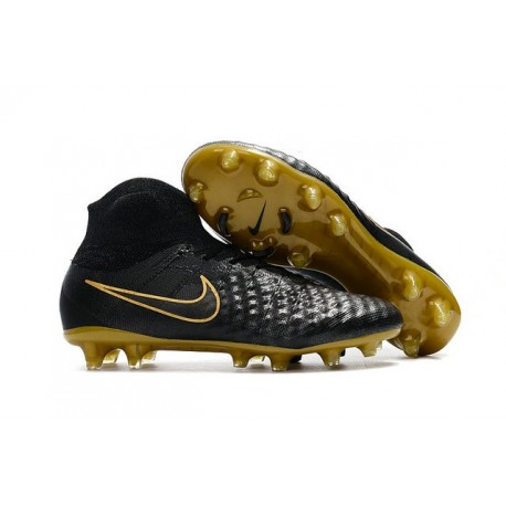 Nouvelles - Chaussures Foot Nike Magista Obra II FG Noir Or