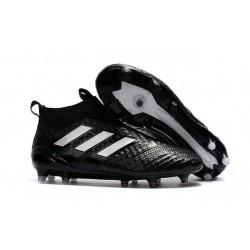 Nouvelles Chaussure adidas Ace 17+ Purecontrol FG Noir Blanc