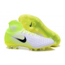 Nouvelles - Chaussures Foot Nike Magista Obra II FG Blanc Volt