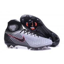 Nouvelles - Chaussures Foot Nike Magista Obra II FG Gris Noir