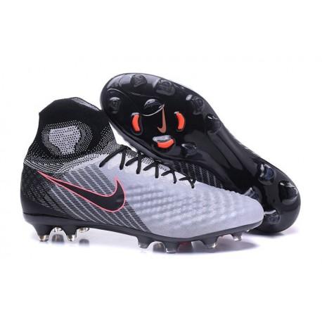 Nouvelles Obra II Nike Magista Chaussures Foot FG Noir Gris ZiXOTPku
