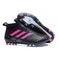 Nouvelles Chaussure adidas Ace 17+ Purecontrol FG Noir Rose
