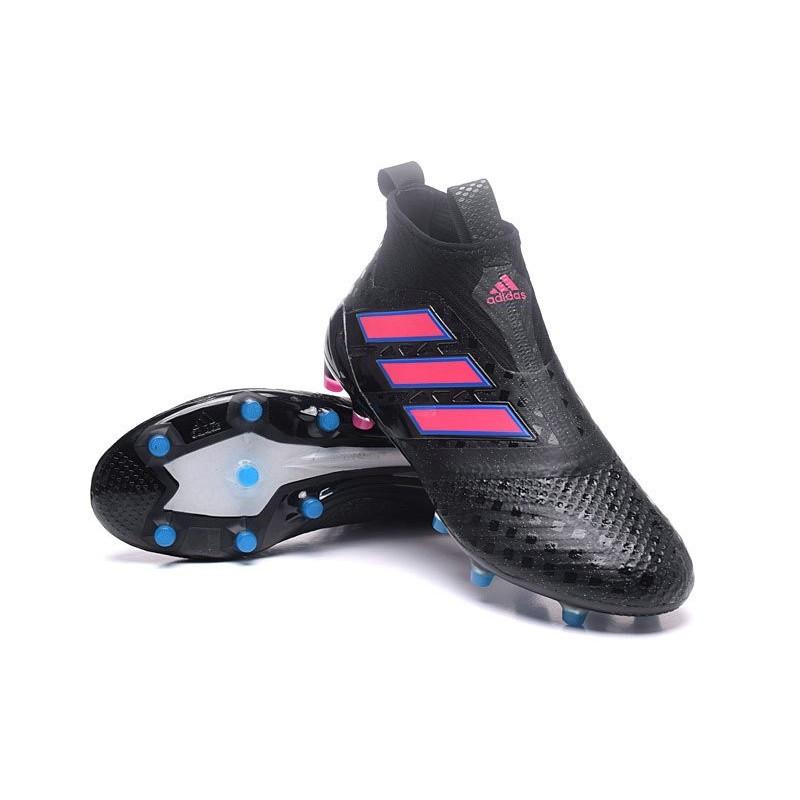 online store 3245b 71967 Nouvelles Chaussure adidas Ace 17+ Purecontrol FG Noir Rose