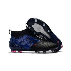 adidas Ace 17+ Purecontrol FG Dragon Crampons de Football - Noir Bleu
