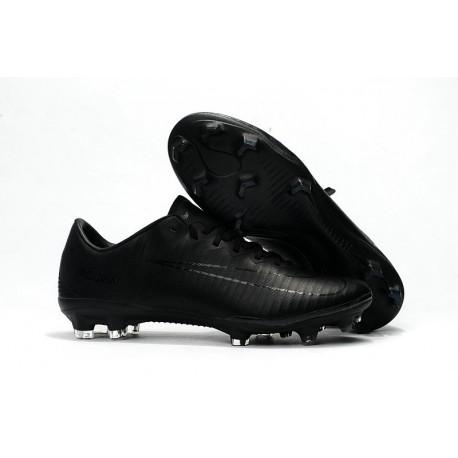 Nike Mercurial Vapor XI FG 2017 Crampon de Foot Tout Noir