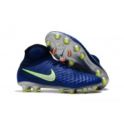 Nike Magista Obra 2 FG 2017 Crampon de Football Bleu