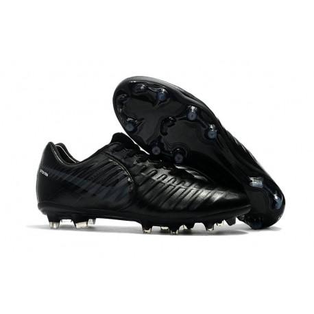 Nike Crampon de Foot Tiempo Legend 7 FG ACC Tout Noir