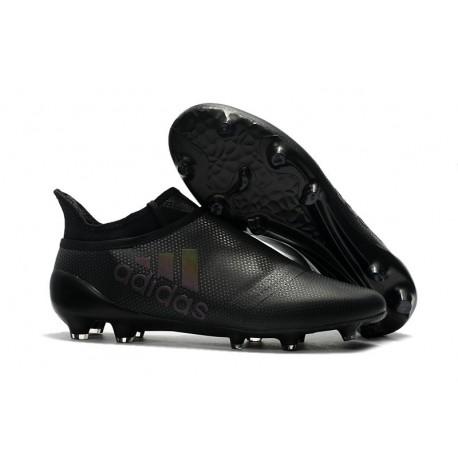 Crampons de Foot adidas X 17+ Purespeed FG Noir