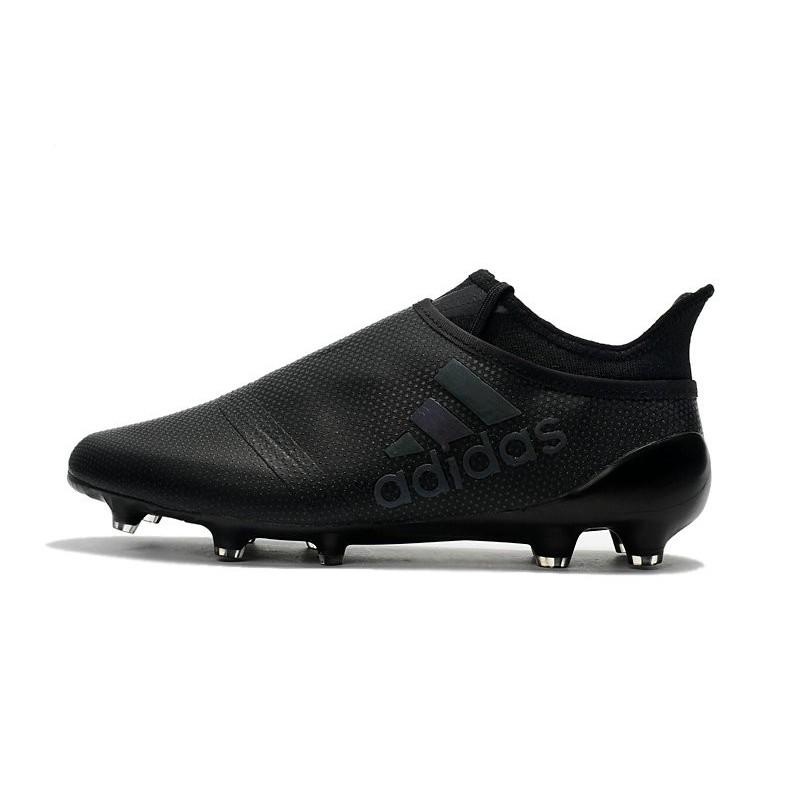 new product 682aa d8d09 Crampons de Foot adidas X 17+ Purespeed FG Noir