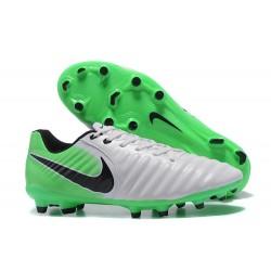 Nike Crampon de Foot Tiempo Legend 7 FG ACC Blanc Vert Noir