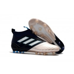 Adidas Ace 17+ Purecontrol FG Crampons de Football - Kith Or Noir Blanc