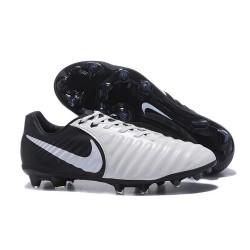 Nike Crampon de Foot Tiempo Legend 7 FG ACC Noir Blanc