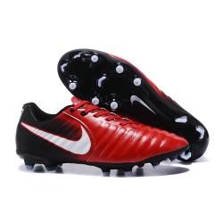 Nike Crampon de Foot Tiempo Legend 7 FG ACC Rouge Noir Blanc