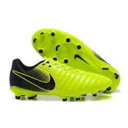 Nike Crampon de Foot Tiempo Legend 7 FG ACC Volt Noir