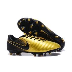Nike Crampon de Foot Tiempo Legend 7 FG ACC Or Noir