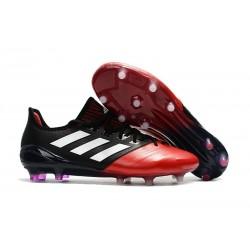 Chaussure Adidas - Crampons de Football Ace 17.1 FG Noir Rouge Blanc