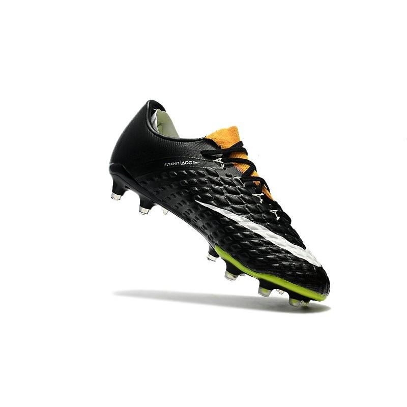 pretty nice 18a8c 2b369 Chaussures de Football pour Hommes - Nike Hypervenom Phantom 3 FG Jaune Noir