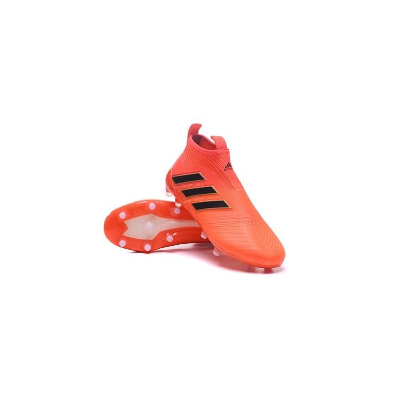 meet 4b7d1 a71cb Adidas Ace 17+ Purecontrol FG Crampons de Football - Orange