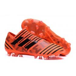 Chaussure adidas Nemeziz 17+ 360 Agility FG - Crampons pour Hommes Orange Noir