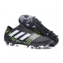 Chaussure adidas Nemeziz 17+ 360 Agility FG - Crampons pour Hommes Noir Black Jaune