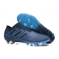 Chaussure adidas Nemeziz 17+ 360 Agility FG - Crampons pour Hommes Bleu Noir