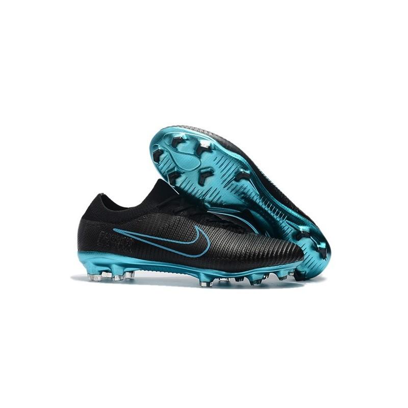 Bleu Foot Noir Flyknit Nike Fg Chaussures Vapor De Mercurial Ultra 80wPnOkX