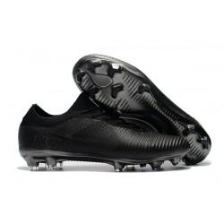 Chaussures de Foot Nike - Nike Mercurial Vapor Flyknit Ultra FG Tout Noir
