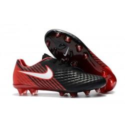 Nouvelles Nike - Crampons Nike Magista Opus II FG Noir Rouge Blanc