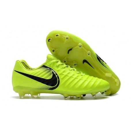 Nouvelles Crampons Nike pour Hommes - Tiempo Legend 7 FG Volt Noir