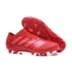 Nouvelles Chaussure adidas Nemeziz 17+ 360 Agility FG - Rouge Rose