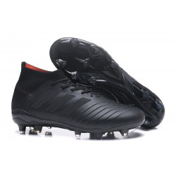Crampons Foot 2018 - adidas Predator 18.1 FG Tout Noir