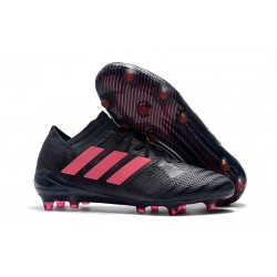 Nouveau Chaussures Football Adidas Nemeziz Messi 17.1 FG Noir Rose