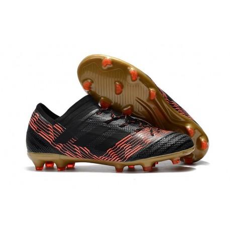 Fg 1 Football Nemeziz Rouge Messi Nouveau Chaussures Or Noir Adidas 17 hQsxBtdCr