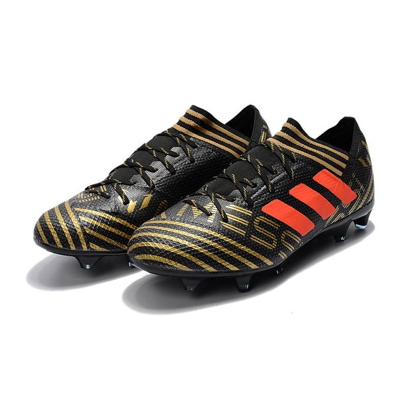 Chaussures Messi Football Noir 1 17 Nouveau Fg Orange Adidas Nemeziz Or SddUw