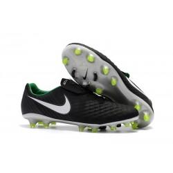 Nouveau Chaussure de Football Nike Magista Opus II FG Hommes Noir Blanc Vert Stade