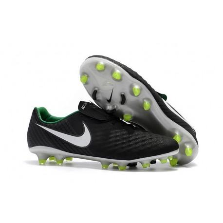 brand new d0bfd 3de45 ... discount nouveau chaussure de football nike magista opus ii fg hommes  noir blanc vert stade 503b8